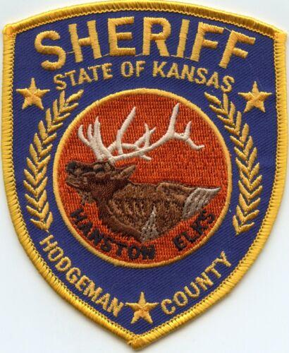 HODGEMAN COUNTY KANSAS KS SHERIFF POLICE PATCH