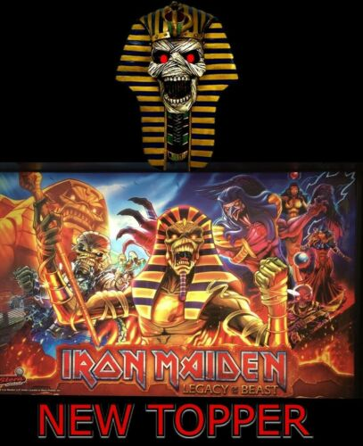 NEW for 2020 Iron Maiden Pinball Machine Topper