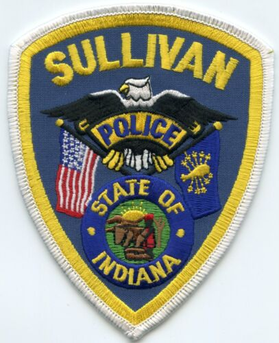 SULLIVAN INDIANA IN POLICE PATCH