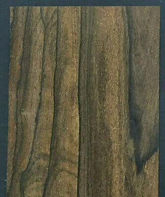 Ziricote Raw Wood Veneer Sheets 4.5 X 36 Inches 142nd   7631-39