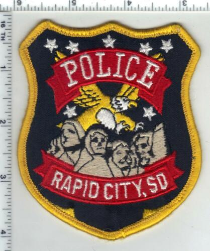 Rapid City Police (South Dakota) 2nd Issue Uniform Take-Off Shoulder Patch