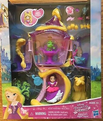 Disney Princesses Age (New Disney Princess Rapunzel's Stylin' Tower Snap-Ins By Hasbro Age)