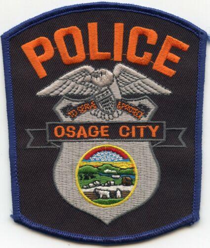 OSAGE CITY KANSAS KS POLICE PATCH