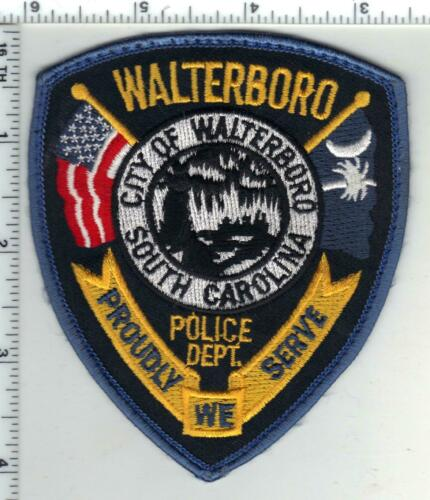 Walterboro Police (South Carolina) 2nd Issue Uniform Take-Off Shoulder Patch
