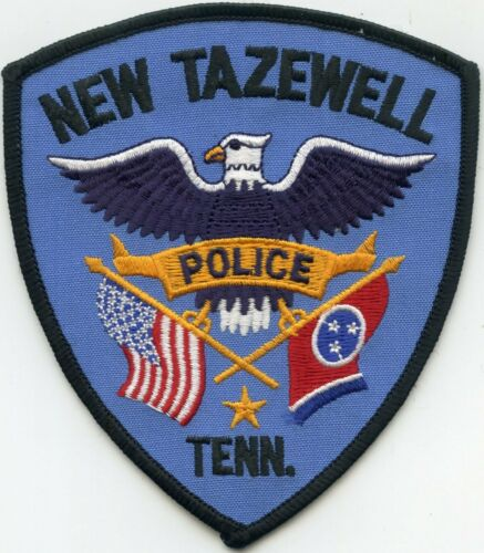 NEW TAZEWELL TENNESSEE TN POLICE PATCH
