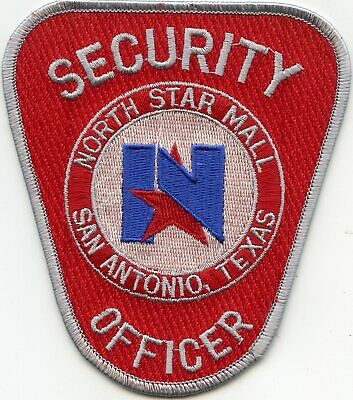 NORTH STAR SHOPPING MALL San Antonio TEXAS TX SECURITY OFFICER police (North Star Mall)