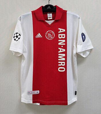 2001-02 AJAX Home S/S No.9 IBRAHIMOVIC UEFA Champions League jersey shirt trikot image