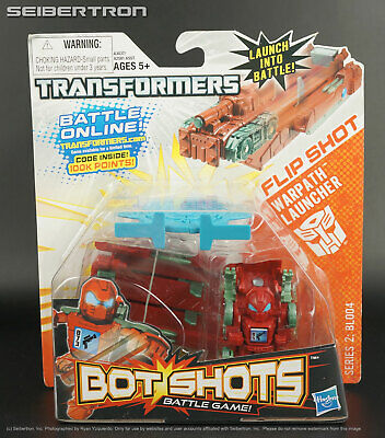 Flip Shot WARPATH Transformers Bot Shots Launcher Series 2: BL004 2013 New