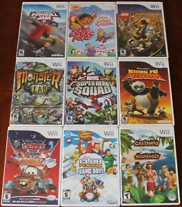46 Wii Game Lot