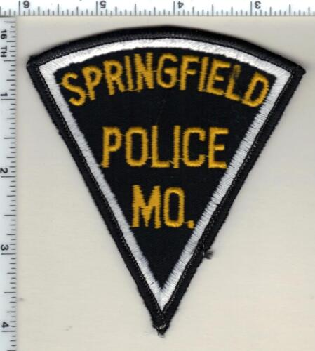 Springfield Police (Missouri) Shoulder Patch from 1985