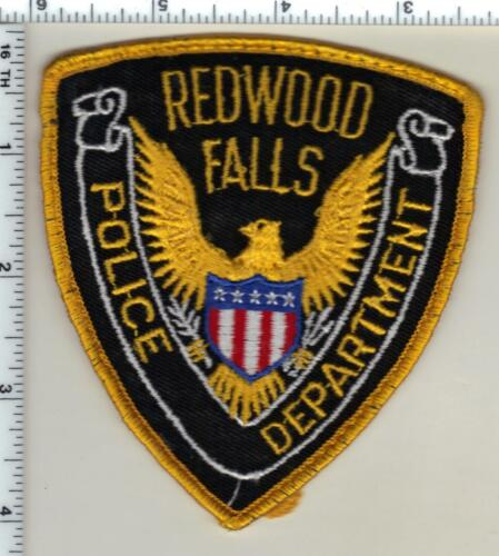 Redwood Falls Police (Minnesota) Uniform Take-Off Patch from 1991