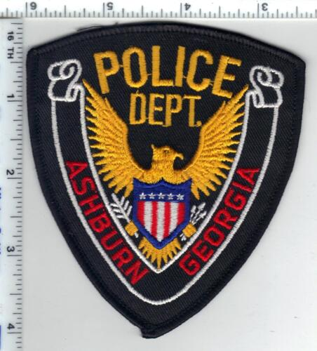 Ashburn Police (Georgia) Shoulder Patch - new from 1980