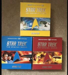 Star Trek Original Series DVD's