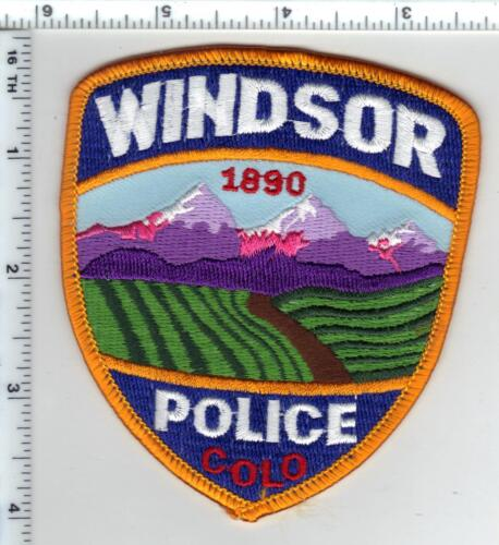 Windsor Police (Colorado) Shoulder Patch - new from the 1980