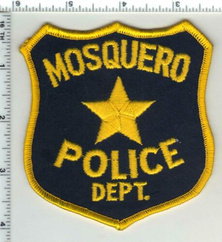 Mosquero Police (New Mexico) 1st Issue Shoulder Patch