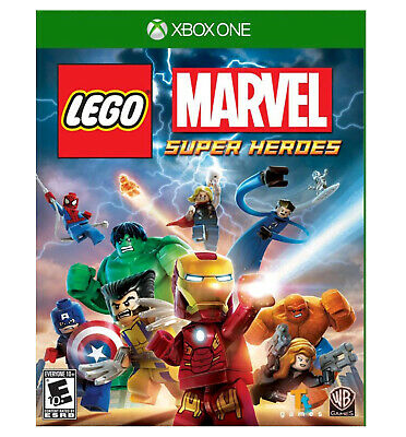 Lego Marvel Super Heroes | Microsoft XBOX ONE | US Version | Factory Sealed