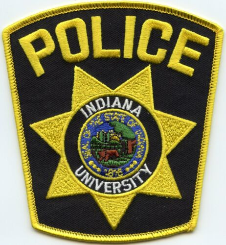 INDIANA IN UNIVERSITY CAMPUS POLICE PATCH
