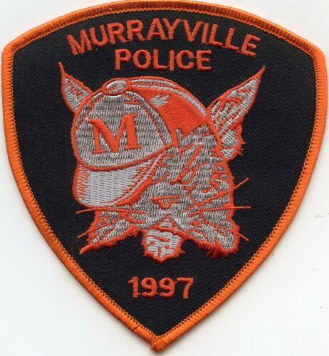 MURRAYVILLE ILLINOIS IL POLICE PATCH