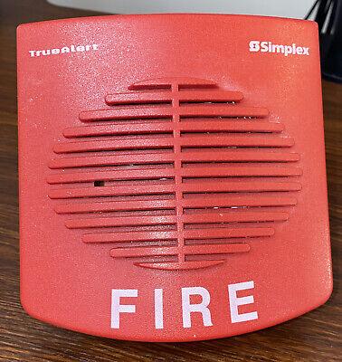 Simplex 4902-9716 Red Speaker Fire Alarm Truealert