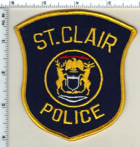 St. Clair Police (Michigan)  Shoulder Patch  - new from 1991