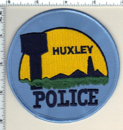 Huxley Police (Iowa)  Shoulder Patch - new from 1990