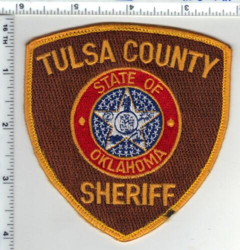 Tulsa County Sheriff (Oklahoma) Uniiform Take-Off Shoulder Patch from the 1980