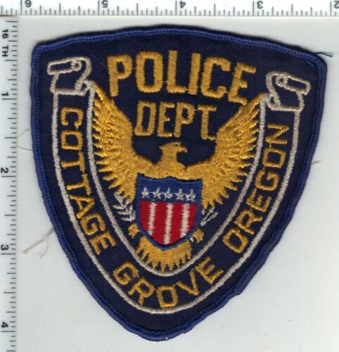 Cottage Grove Police (Oregon) 1st Issue Uniform Take Off Shoulder Patch