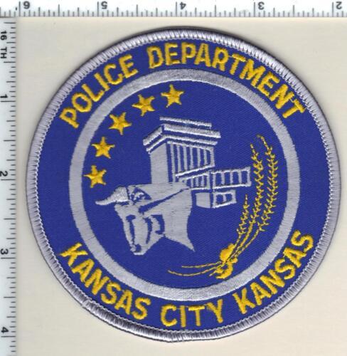 Kansas City Police (Kansas) Shoulder Patch - new from 1990