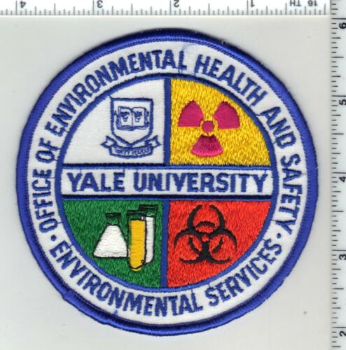 Yale University Health & Safety (Connecticut) 1st Issue Shoulder Patch