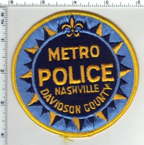 Nashville Metro Police (Tennessee) 1st Issue Shoulder Patch