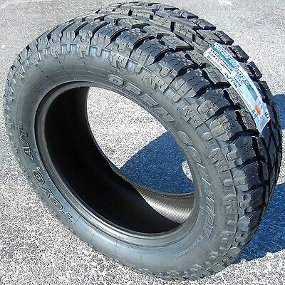 4 NEW TOYO OPENCOUNTRY AT II TIRES P275/55R20 275 55 TOYOTA NISSAN FORD F150 GMC
