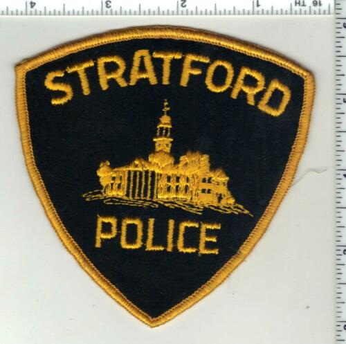 Stratford Police (Connecticut) 1st Issue Shoulder Patch