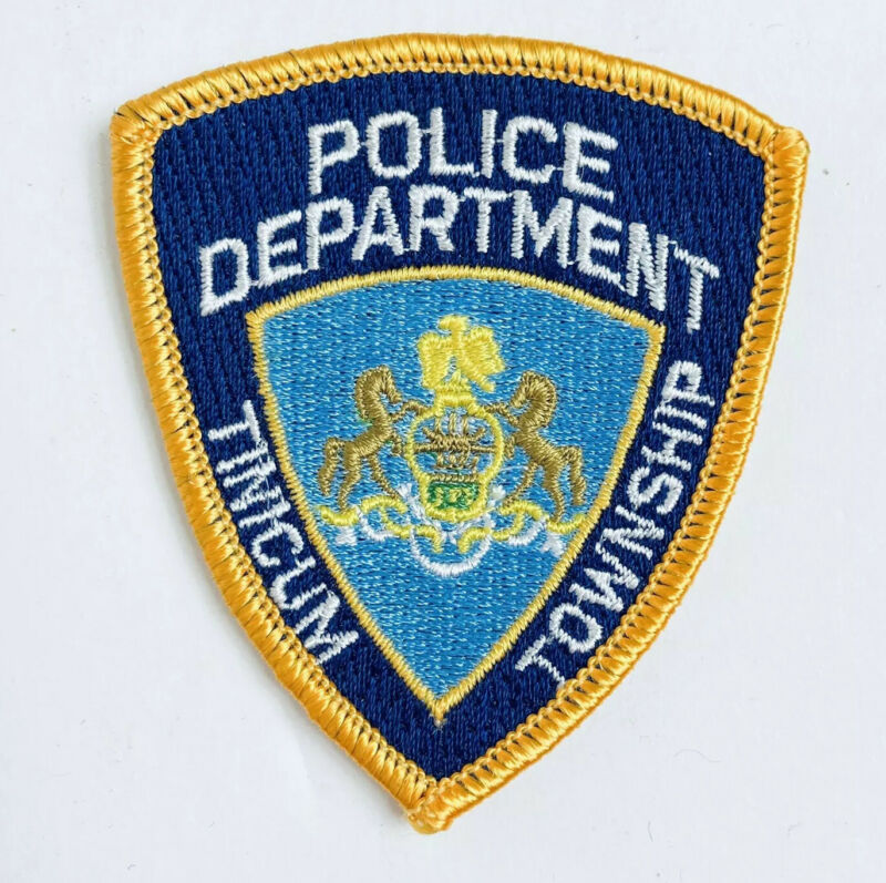 PATCH TINICUM TOWNSHIP PA POLICE PATCH DISCONTINUED