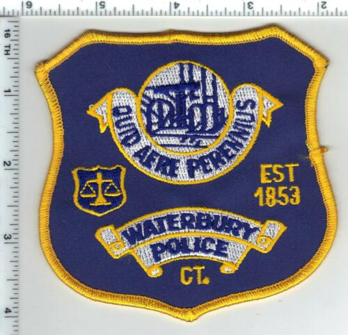 Waterbury Police (Connecticut) Shoulder Patch - old style