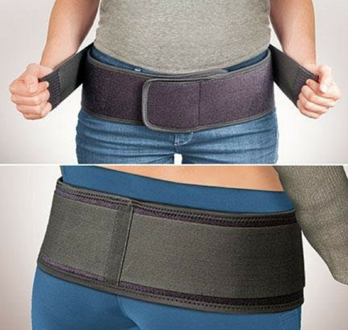 Pelvic Back Pain Belt SI Wrap Support Therapy Therapeutic Compression Support Health & Beauty