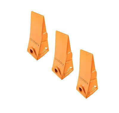 3 - Bobcat Style Mini Excavator Skid Steer Bucket Teeth - 6737325