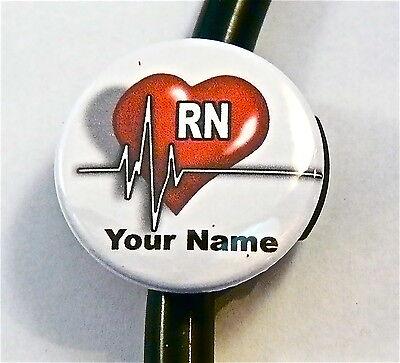 CARABINER ID BADGE HOLDER RETRACTABLE EMT STAR OF LIFE HEARTBEAT ER,RN,CCU,EMS,