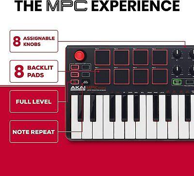 AKAI Pro MPK Mini Keyboard + Pad Controller New (Open Box)