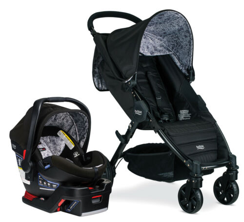 Britax Pathway Travel System Stroller w B-Safe Ultra Infant Car Seat Sketch
