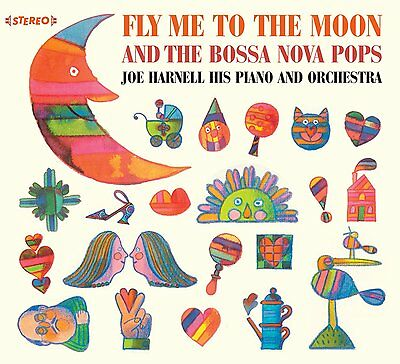 Joe Harnell: Fly Me To The Moon + More Bossa Nova Pops (2 Lps On 1