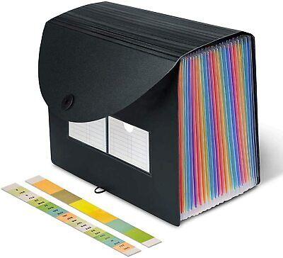 Accordion File Organizer Expanding File Folder File Folder Organizer 24 Pocket