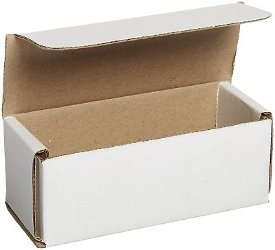 50 Pcs 5x2x2 White Shipping Boxes Mailers Small Packing Mailing Strong Cardboard