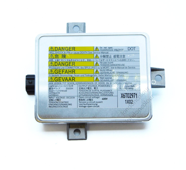 Modulo di controllo HID Xenon per lampadine X6T02971 X6T02981 W3T10471 W3T12472 W3T11371 W3T14371 D2S D2R