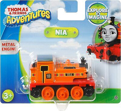 New! Fisher Price Thomas & Friends Adventures Small Die-Cast Engine - Nia 2-Left