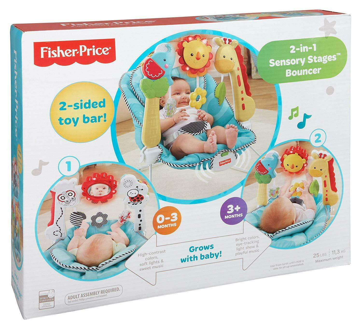 Fisher-Price Toys Bar Newborn Sound Musical Chair Seat Infan