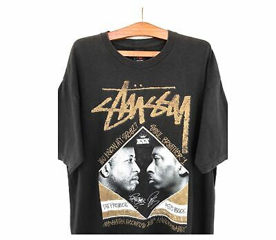 [VTG] STUSSY x DJ Premier x Pete Rock L / Rap Rakim Gang Starr ATCQ Beastie NAS