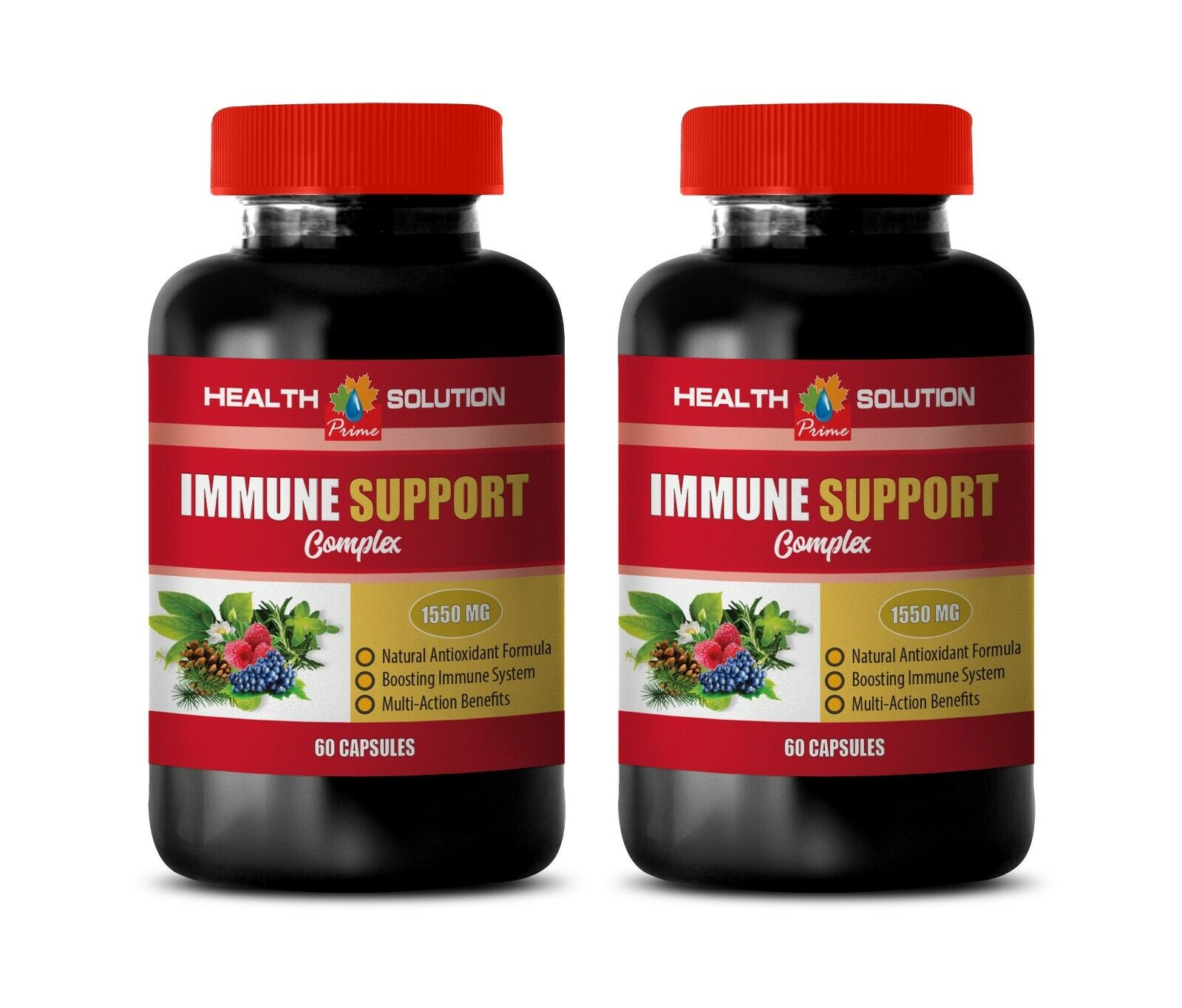 anti inflammatory pill - IMMUNE SUPPORT - anti inflammation skin care 2BOTTLE