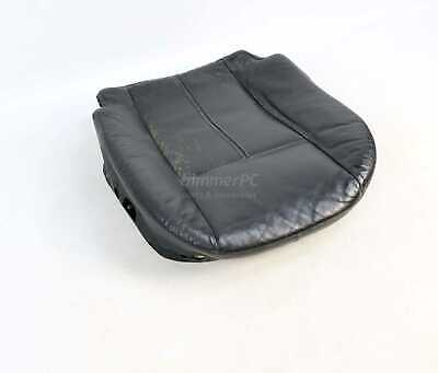 BMW E38 E39 Black Heated Leather Front Seat Bottom Base Cushion 1995-2003 OEM