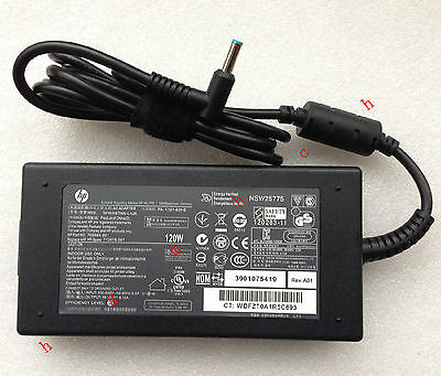 @Original Genuine OEM 120W AC Adapter for HP ENVY 15-q004tx,710415-001 Notebook