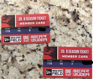 Buffalo Bills tickets -  (Pairs)